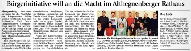 Quelle FFB-Tagblatt 04.12.2013